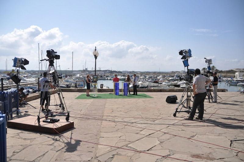 """Télé """"Canal Algérie"""" à Alger avec l'EMTN - 08/2013"""