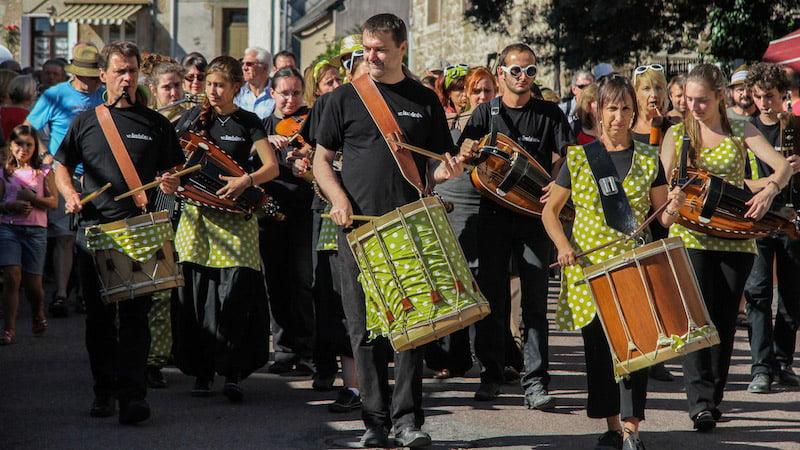 Festival de la vielle à Anost - BandaBéro - 08/2013