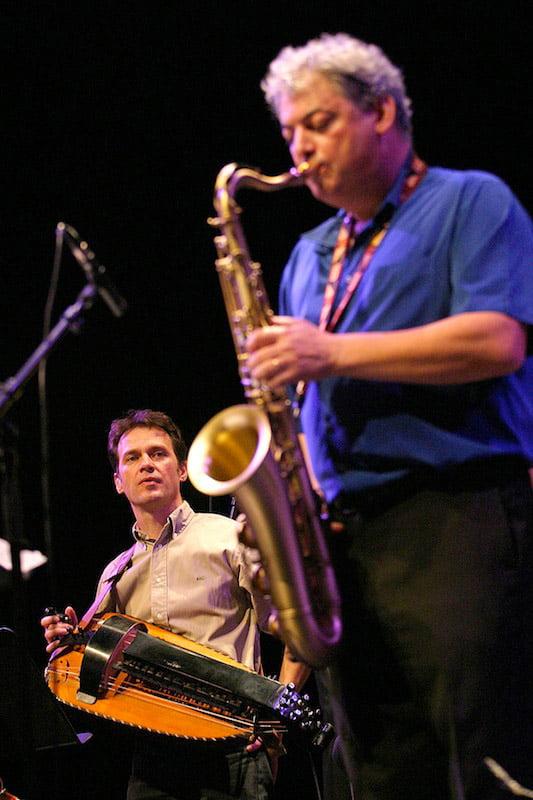 Dominique avec JM.Padovani - festival de Jazz - 05/2012
