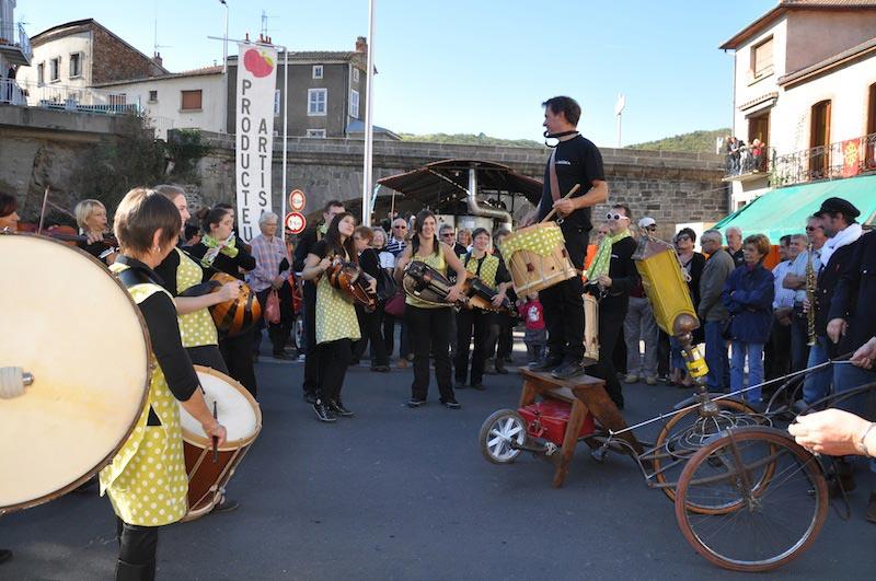 Festival de Massiac avec Lâchez les chiens. 10/2014