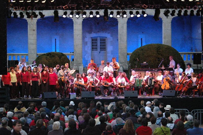 Festival de St Chartier - Avec l' EMTN 10/07/2004