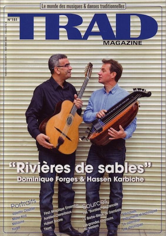 Dominique et Hassen Karbiche- Photo Trad Mag 09/2013